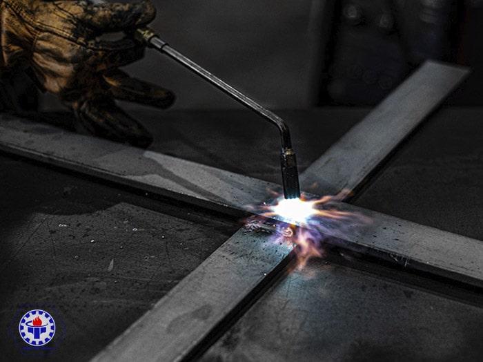 Groove welding